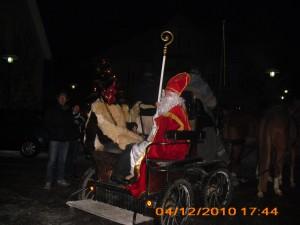 Am Samstag um 15.00 Uhr kommt der Nikolaus